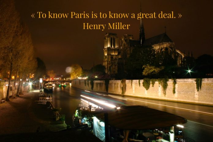 Wanderlust Quote Paris